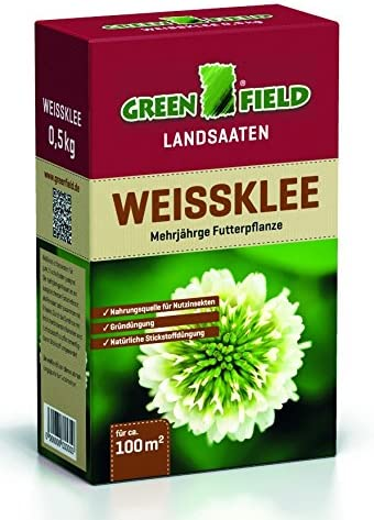 Feldsaaten Freudenberger 63765 Greenfield Landsaaten Weißklee 500 g (Weißkleesamen)