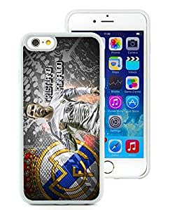 Unique And Durable Designed Case With Cristiano Ronaldo (2) White For iPhone 6 4.7 Inch TPU Phone Case