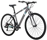 Diamondback Bicycles Calico St Women's Dual Sport Bike Small/16 Frame, Silver, 16″/ Small Review