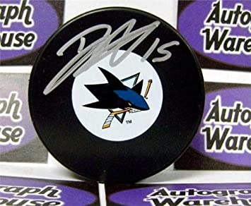 Image Unavailable. Image not available for. Color  Dany Heatley autographed  hockey puck (San Jose Sharks) b888aca17