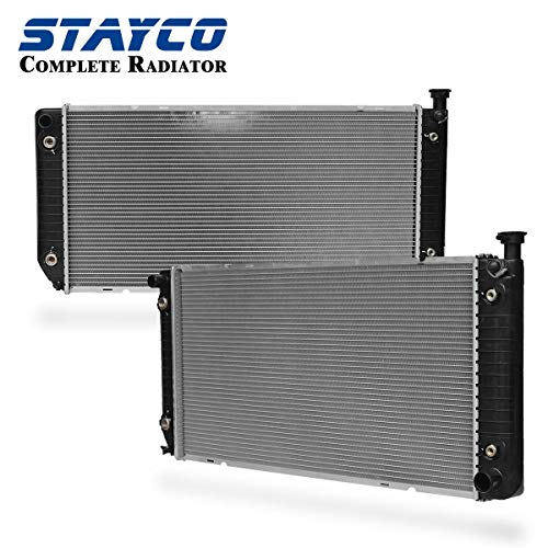 (STAYCO Radiator Replacement for Chevrolet Blazer C1500 C2500 C35 C3500 K1500 K2500 K3500 GMC Yukon Sierra Suburban V8 5.7L 5.0L Replacement# CU1693)
