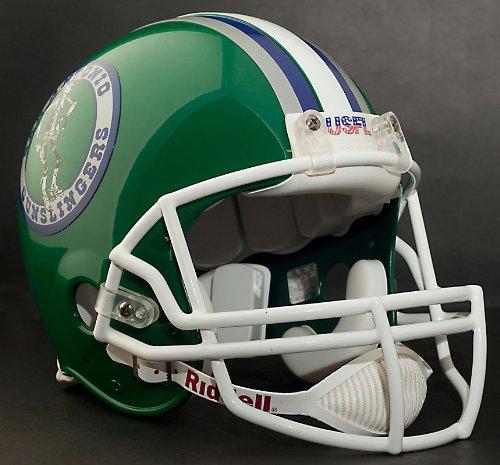 SAN ANTONIO GUNSLINGERS 1984-1985 USFL Footballl Helmet DECALS