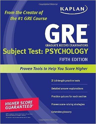 Kaplan GRE Subject Test: Psychology price comparison at Flipkart, Amazon, Crossword, Uread, Bookadda, Landmark, Homeshop18