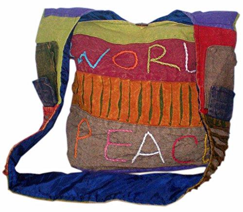 Hombro Color Justo De Hippie Étnico Comercio Del Bolsa Unbranded Festival Himalaya Multi Boho q7nfxtH