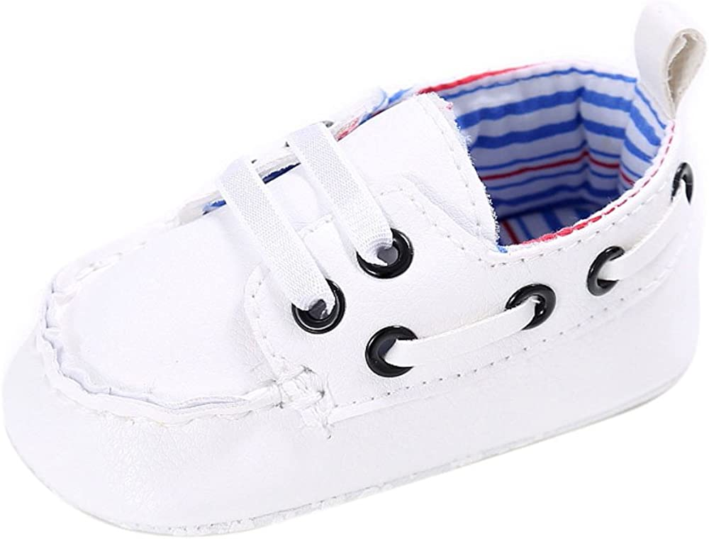 Baby Snowman Print Soft Sole Crib Shoes Infant Boy Girl Shoes 6~12 Month