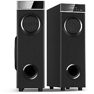 Philips in-SPA 9060B/94 Tower Speakers (Black)
