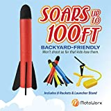 Toy Rocket Launcher for kids – Shoots Up to 100