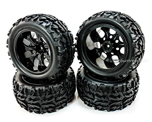 Truck Wheels And Tires >> Redcat Racing Volcano Epx Pro Monter Truck Wheels Tires Glued