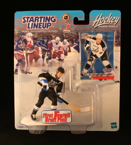 Starting Lineup Vincent LECAVALIER / Tampa Bay Lightning 2000-2001 NHL Action Figure & Exclusive Collector Trading Card