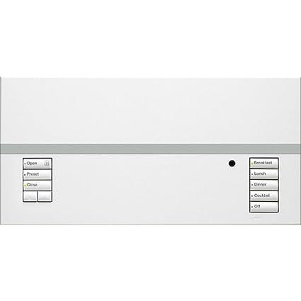 Lutron QSGRJ-6P-WH 6- zone GRAFIK Eye QS Wireless Main Unit - Dimmer ...