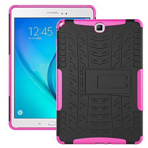 Super Slim Case Cover for Samsung Galaxy Tab A 9.7-Inch Tablet SM-T550 Black - 7