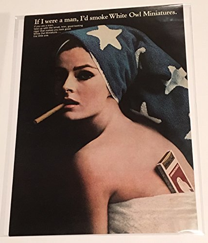 1965 If I Were A Man White Owl Miniatures Cigar Magazine Print Advertisement
