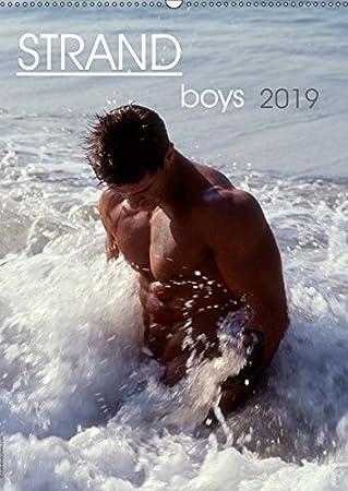 Strandboys 2019 (Wandkalender 2019 DIN A3 hoch): 12 knackige Jungs am Strand (Monatskalender, 14 Seiten ) (CALVENDO Menschen) malestockphoto 3669838880 Fotografie Erotik