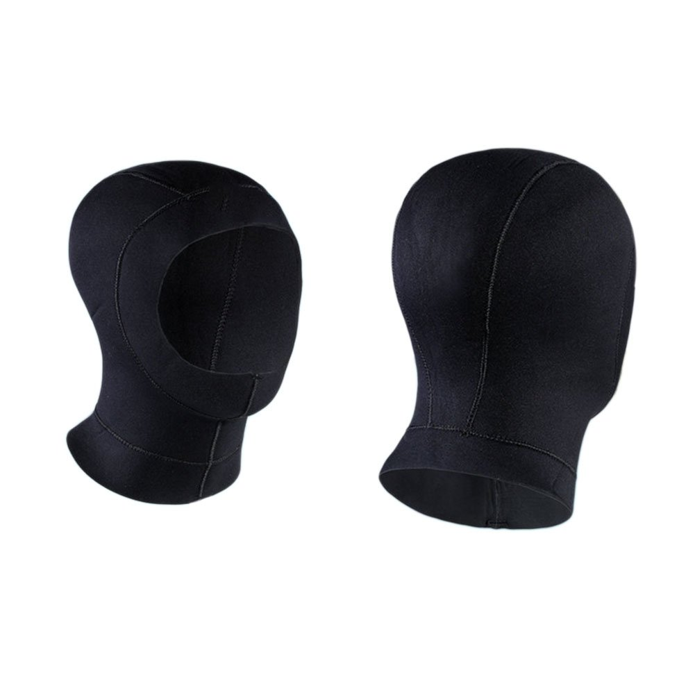 57-59cm Hzjundasi Neopreno 3mm Buceo gorra capucha Navegar Diversos Sombrero Bucear Nadar Agua Deportes Calentar