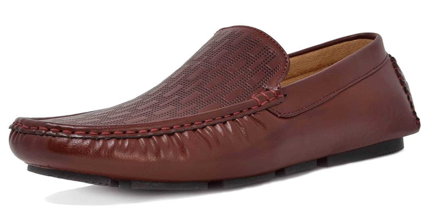 Bruno Marc New York Men's Philipe 01 Penny Loafers Moccasins Shoes by Bruno Marc New York