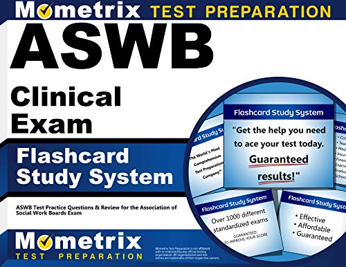 Portable 2016 System - ASWB Clinical Exam Flashcard Study System: ASWB Test Practice Questions & Review for the Association of Social Work Boards Exam (Cards)