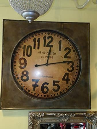 Stunning Massive Industrial Vintage Style Extra Large Factory Clock