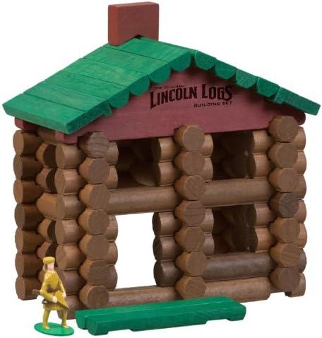 Lincoln Logs 00871 Lincoln Logs Classic Edition Frontier Cabin: Amazon.es: Juguetes y juegos