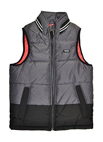Osh Kosh B'Gosh Big Boys Down Alternative Vest, Grey, 10 ()