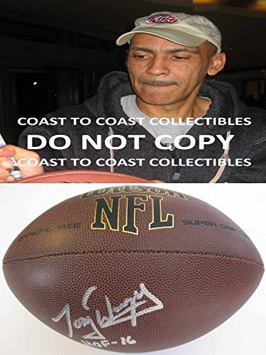 Tony Dungey,indianapolis Colts,bucs,signed,autographed,nfl Football,coa,proof - Autographed Footballs (Colts Tony)