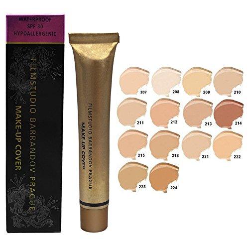 Zehui Face Concealer Cottect Pro Contour Makeup Cover Foudantion Cream - Long-lasting & Waterproof & Moisturing 1pcs 213 213 Apparel