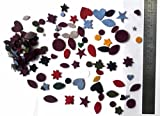 ebay frozen - KVR Precut wool and polar fleece fabric shapes Star and circle for Decoration Gifts
