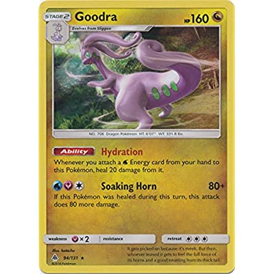 Goodra - 94/131 - Holo Rare - Reverse Holo - Forbidden Light: Toys & Games