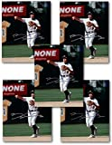 Bobby Crosby Autographed Picture - 5 Count Lot of 8X10 Photos A's COA - Autographed MLB Photos