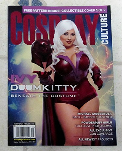 COSPLAY CULTURE Magazine IVY DOOM KITTY Michael Fassbender POWDERPUFF GIRLS (Doom Kitty)