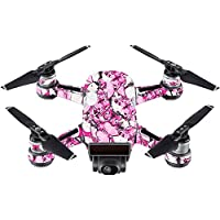 Skin For DJI Spark Mini – Butterflies | MightySkins Protective, Durable, and Unique Vinyl Decal wrap cover | Easy To Apply, Remove, and Change Styles | Made in the USA