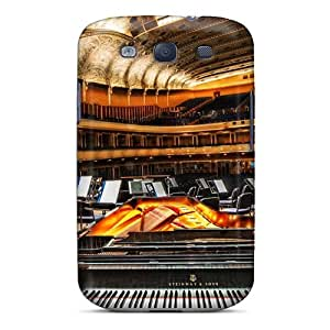 Rugged Skin Case Cover For Galaxy S3- Eco-friendly Packaging(severance Concer Hall In Clevel)