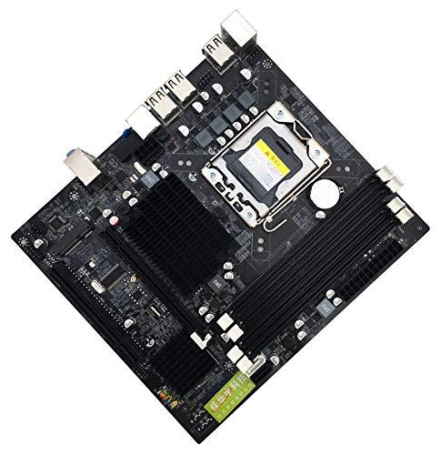 ETbotu X58 Motherboard LGA 1366 Pin Intel CPU with USB2.0 SATA2.0 Motherboard