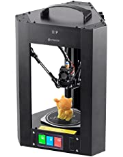 Monoprice Mini Delta 3D Printer, with Australian Plug, Fully Assembled with Heated Build Plate and Auto Calibration for ABS PLA w/Micro SD