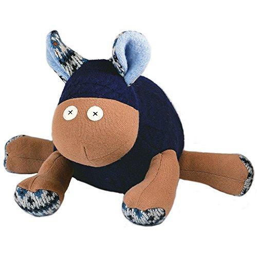 "Cate and Levi 20"" Handmade Sheep Stuffed Animal (Premium Reclaimed Wool), Colors Will Vary"