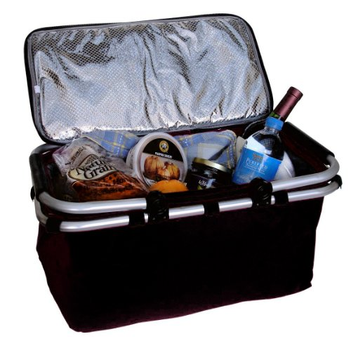 Bravo Enterprise Collapsible Insulated Cooler Basket -