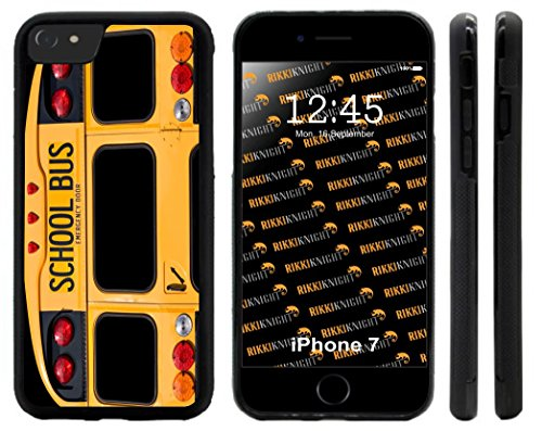 Rikki Knight Cell Phone Case for iPhone 7/7 Plus / 8 Plus - Back Of A Yellow School Bus Design from Rikki Knight