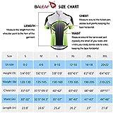 BALEAF Men's Cycling Jersey Mountain Biking Shirts