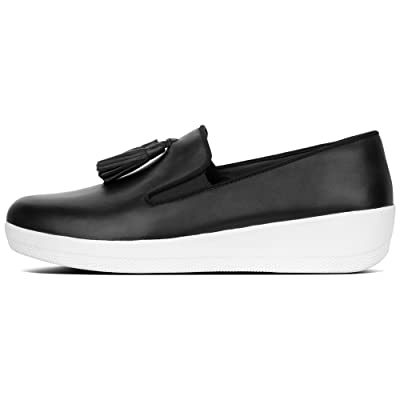 FitFlop Women's Tassel Superskate Leather Loafer | Shoes