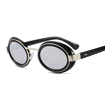 OME&QIUMEI Gafas De Sol para Mujer Espejo Sombras Mujeres ...