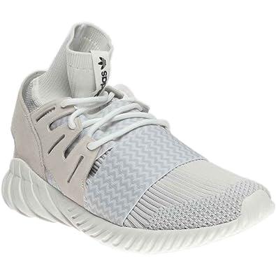 9844ea6b175a adidas Tubular Doom Primeknit Mens in Vinatge White Light Grey