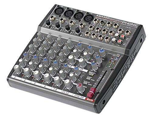 Phonic, 8 Mixer - Unpowered (AM440D)