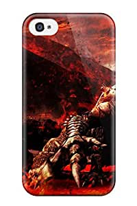 Iphone 4/4s Case Cover With Shock Absorbent Protective CAzPnzJ5458YTFTK Case