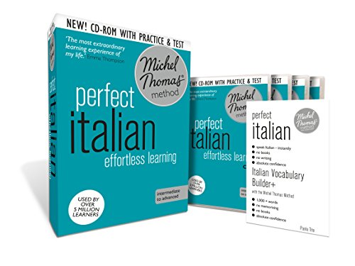 Perfect Italian: Revised (Learn Italian with the Michel Thomas Method) (A  Hodder Education Publication) (Italian Language Michel Thomas compare prices)