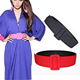 NEW New Brand Fashion Belts For Women 6 Colors All-Matched PU Leather Belt Ladies Metal Polyester Belt Cinto Feminino Waistband Yellow Belt