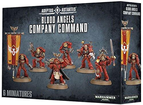 - Games Workshop Warhammer 40k Blood Angels Company Command