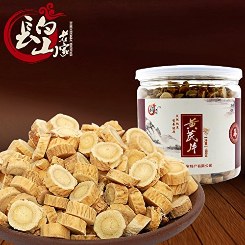 SHI Hometown of Changbai Mountain wild Astragalus tablet sulfur free Astragalus slice northeast new authentic fufangbeiqi wafer - Tablets Sulfur