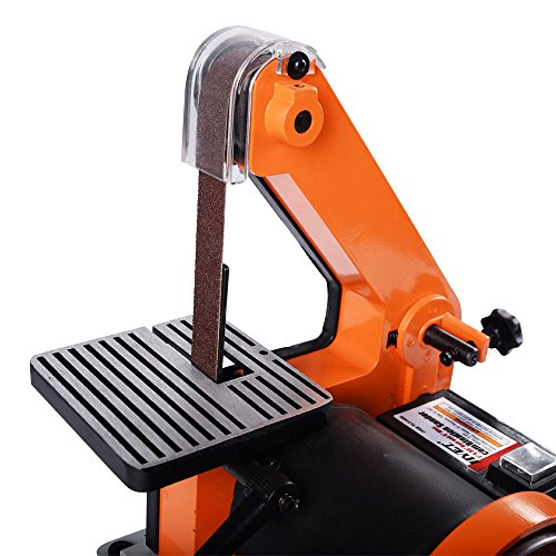 Goplus Belt and 5-Inch Disc Sander, 1 x 30-Inch, 1/3HP Polish Grinder Sanding Machine by Goplus (Image #3)
