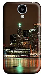 Samsung S4 Case Ablaze With Lights And Beauty Of The City 3D Custom Samsung S4 Case Cover