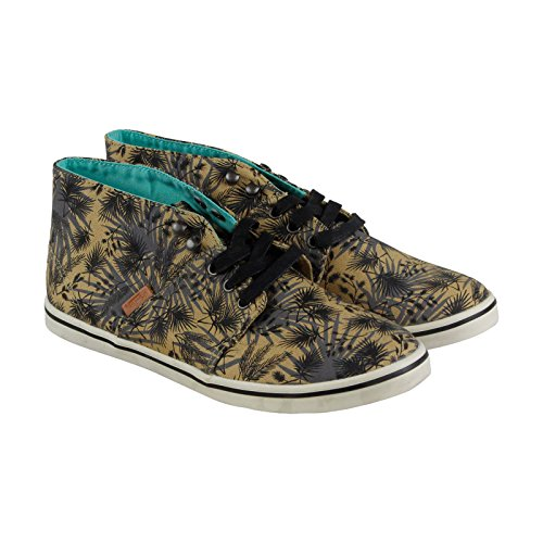 5 Lace Vans Womens Camryn Brown Chukkas Casual Up 6 Shoes Dress Slim Textile rqqIxEpzw