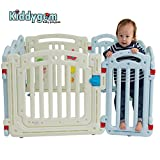 Kiddygem M7 Extra Tall Baby Playpen, Blue